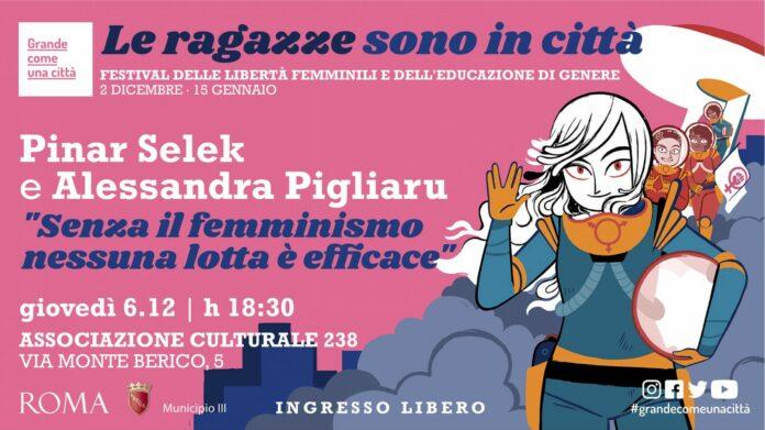 le ragazze sono in città senza il femminismo nessuna lotta