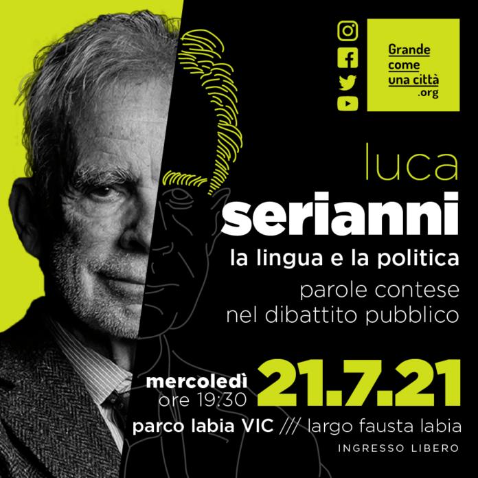 Luca Serianni La Lingua e la politica